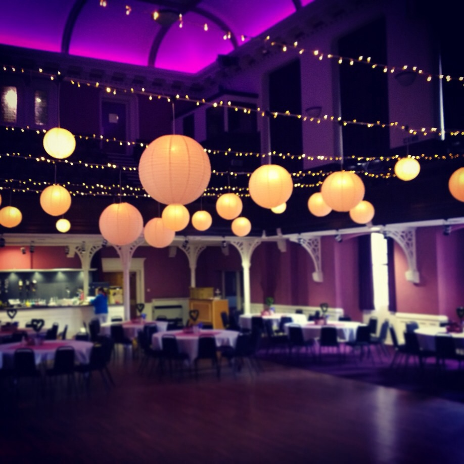 Decorate A Picture: Hanging Lantern Wedding Decor Alloa Town Hall